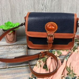 Vintage Dooney & Bourke Leather Crossbody Purse